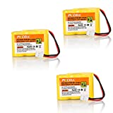 3x VTech BT-17333 BT-27333 Rechargeable Cordless Phone Battery (2/3AA 300mAh 3.6V Ni-cd)