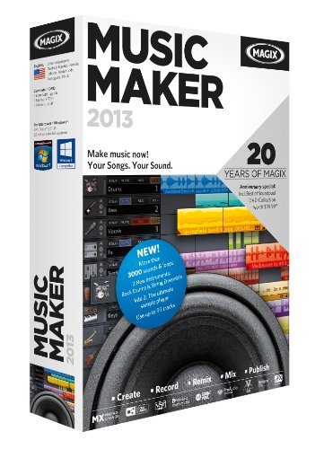 MAGIX Music Maker 2013 - Magix Music 2013 Maker