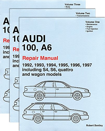 Audi 100, A6 : Repair Manual 1992-1997:Including S4, S6, Quattro and Wagon Models (3 volume set)