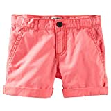 OshKosh B'gosh Woven Shorts (Toddler/Kid) - Coral-5