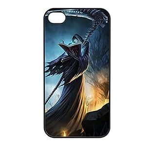 Karthus-002 League of Legends LoL case cover for Apple iPhone 4 / 4S - Plastic Black