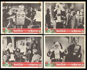 Conquers Martians Movie Poster - Santa Claus Conquers the Martians - Authentic Original 14