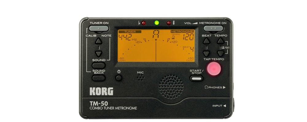 Afinador cromático y metrónomo Korg TM-50
