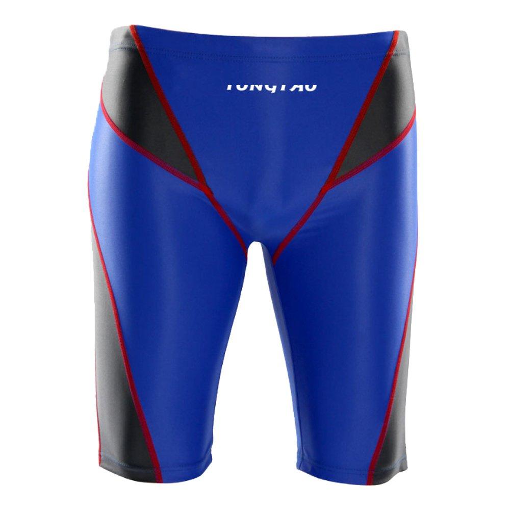 Zhhmeiruian Men's Boy's Swim Shorts Sports Panel Jammer Swimwear Pants