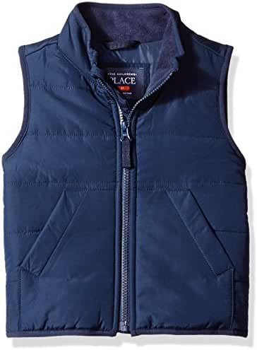 The Children's Place Baby-Boys' Zipper Front Vest