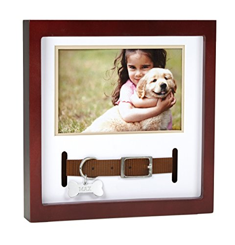 - Pearhead Dog or Cat Pet Keepsake or Memorial, Espresso
