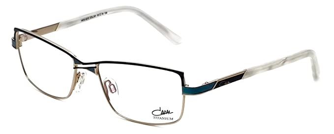 f05cffdd91 Amazon.com  Cazal Designer Eyeglasses 4215-001 in Turquoise 53mm ...