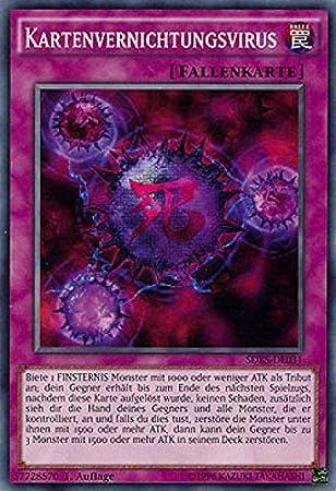 LCKC-DE046 - virus de la destrucción de tarjetas (DUNKELL) (RARE) 1. Edición (en alemán): Amazon.es: Bebé