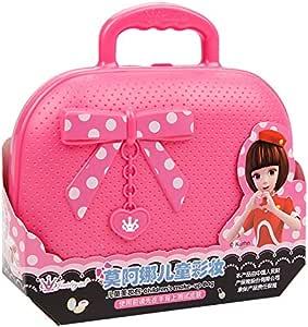 LanLan Juego de Maquillaje para niñas, Juego de imaginación de cosméticos Kit Princesa Juguete de Regalo: Amazon.es: Juguetes y juegos