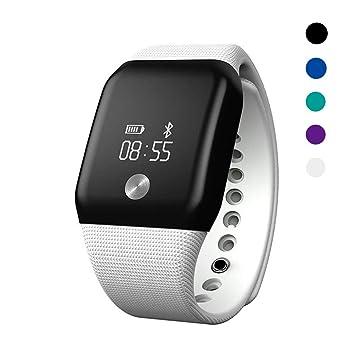 Huichao Montre Connectée Podomètre Bracelet Connecté Etanche Smart Watch pour Femme Homme Enfant Smartwatch Cardio Fitness