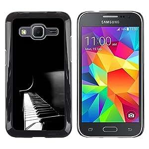 - MUSIC INSTRUMENT PIANO WHITE BLACK KEYS - - Monedero pared Design Premium cuero del tir???¡¯???€????€?????n magn???¡¯