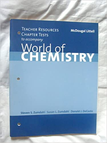 Counting Number worksheets fun chemistry worksheets : Teacher Resources Chapter Tests to Accompany World of Chemistry ...