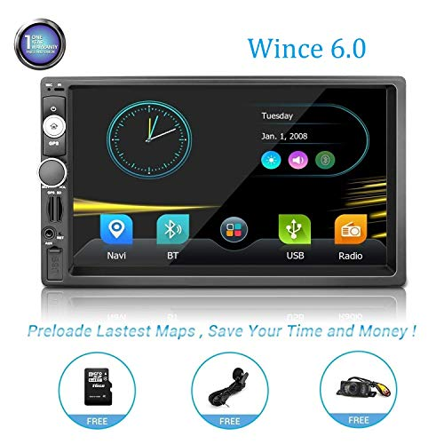 Twodinnav Car Stereo with Navigation Head Unit Touch7.1in Screen car Stereo Double din car Stereo with Navigation Double din car Stereo with Navigation car Stereo Double din for Nissan
