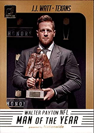 new concept 392c9 39b67 Amazon.com: 2018 Donruss Walter Payton NFL Man of the Year ...