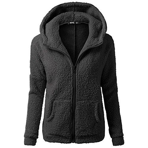 smartland-womens-winter-long-sleeve-full-zip-soft-fleece-hooded-jumper-hoody-jacket-coat-xl-black