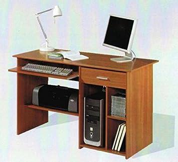 MUEBLES MATO - Mesa Ordenador Color Cerezo 4318c: Amazon.es: Hogar