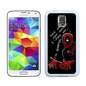 New Unique DIY Antiskid Skin Case For Samsung S5 Deadpool (2) Samsung Galaxy S5 White Phone Case 104