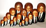 Prophets / Russian Nesting dolls / 3 sets / total 16 dolls / Large doll 8 in