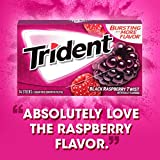 Trident Black Raspberry Twist Sugar Free Gum - with Xylitol