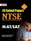 NTSE 20 Solved Papers (SAT/MAT)