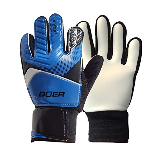 pushfocourag Child goalkeeper non-slip gloves soccer goalkeeper gloves...