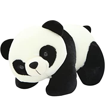 30cm//12 Luoke Plush Stuffed Cute Soft Panda Zoo Animals Cloth Panda Multi Style Toy Children Doll Birthday Gift Bolster