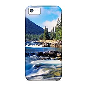 Premium Elbow River Falls In Alberta Heavy-duty Protection Case For Iphone 5c