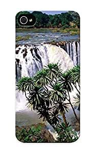 New Arrival Tree Blue Nile Falls For Iphone 5/5s Case Cover Green Pattern For Gifts