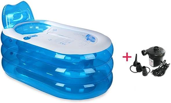 GSHWJS - Bañera hinchable plegable para bañera, para adultos: Amazon.es: Hogar