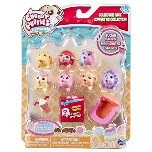 Chubby Puppies & Friends Collector Pack Sugar Babies (10 - Prairie Eden Stores