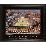 Baltimore Orioles - Camden Yards Aerial - Dusk - Lg - Framed Poster Print