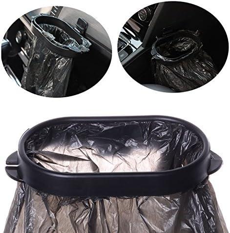 Vehicle Trash Bag Rack Garbage Container Clip Bin Waste Holder Frame Hanger