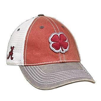 Black Clover Crimson White Alabama 2-Tone Vintage Snapback Hat (Alabama) 03533827f7b