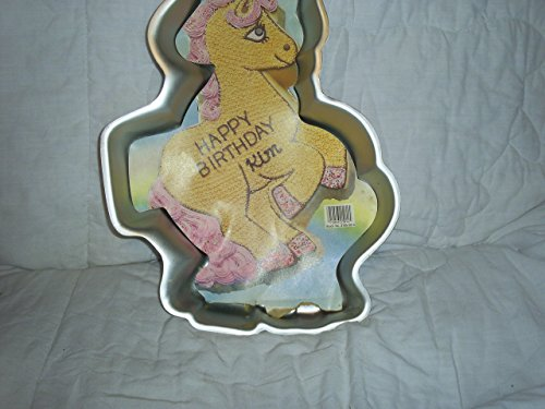 Pony Cake Pan (Wilton Precious Pony ~ Horse ~ Unicorn Cake Pan (2105-2914, 1986) ~ Retired)