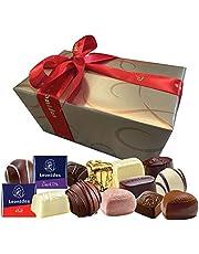 Leonidas Belgian Chocolates Gluten Free | 32 Piece 500g Assorted Gluten Free, Milk, Dark and White Chocolates in a Beautiful Gift Ballotin Box. Imported fine Chocolate from Belgium