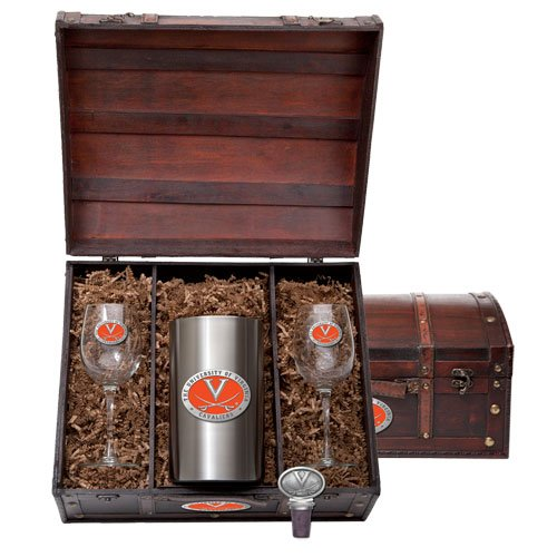 Virginia Cavaliers Team Logo Wine Gift Set by Heritage Pewter