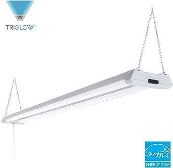 TriGlow T83901 40W LED 4' Linkable Shop Light