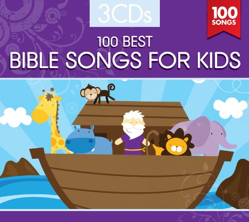 100 BEST BIBLE SONGS FOR KIDS (3 CD Set)