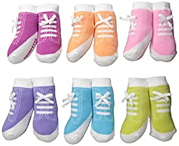 Trumpette Jenny Sneakers Box Set,  0-12 Months, 6-Pairs