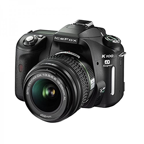 Pentax K100D Super + DA 18-55mm 6,1 MP CCD Negro: Amazon.es ...