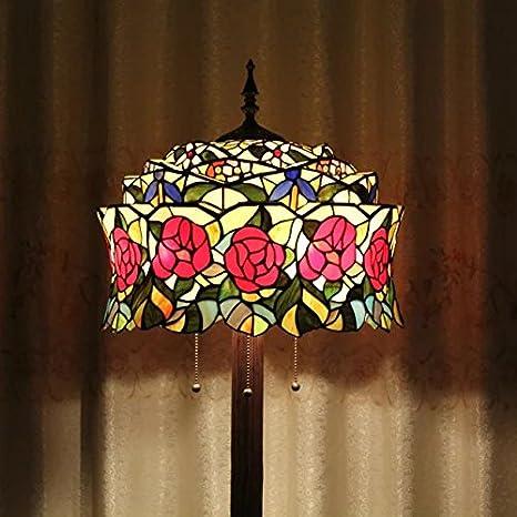 Creativo hecho a mano del vitral de Tiffany Tiffany Lámpara ...