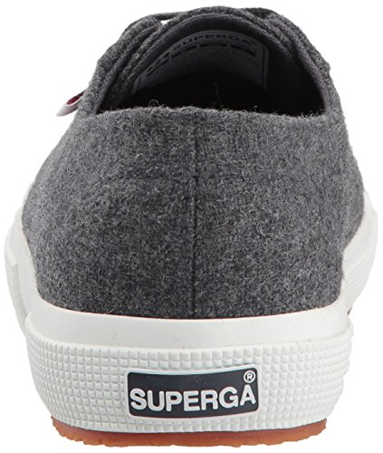 Superga Damen 2750 Woolmelw Fashion Sneaker Dunkelgrau