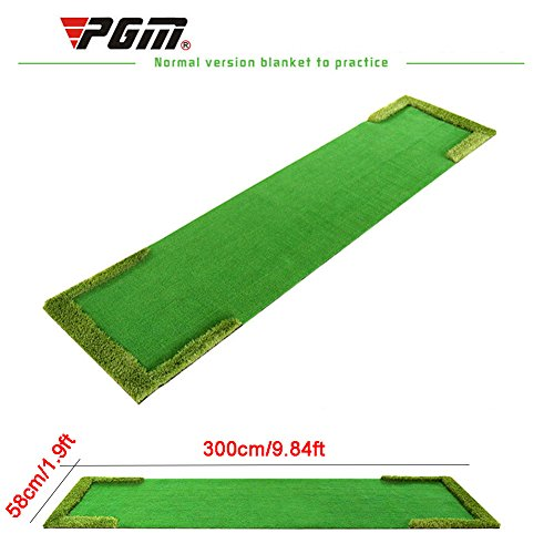 PGM Quality Golf Putting Green System Professional Practice Green Golf Training Mat 58300cm/1.9ft9.84ft