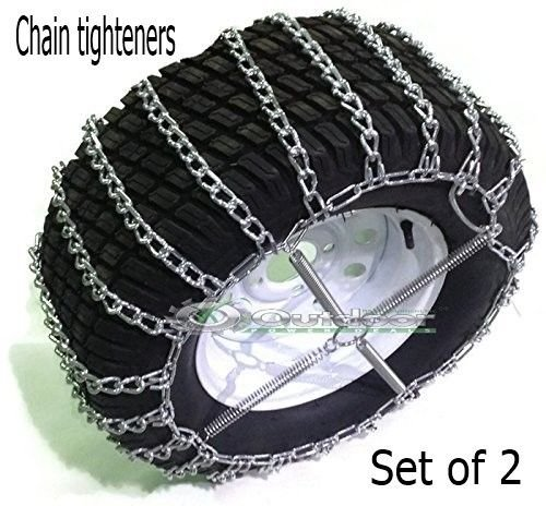 OPD tire chains (set of 2) 20x10.00-10 20x10.00-8 2- link with Tighteners