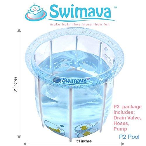 Swimava Baby Pool / Bath Tub (P-2) POOL only (Large/ 86 Gallon) by Swimava