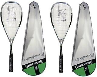 Browning Platinum Nano 100, colore: cromato, Racchetta da Squash