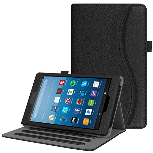 Tablet Case for Amazon 2015 kindle fire HD 8 (Black) - 5