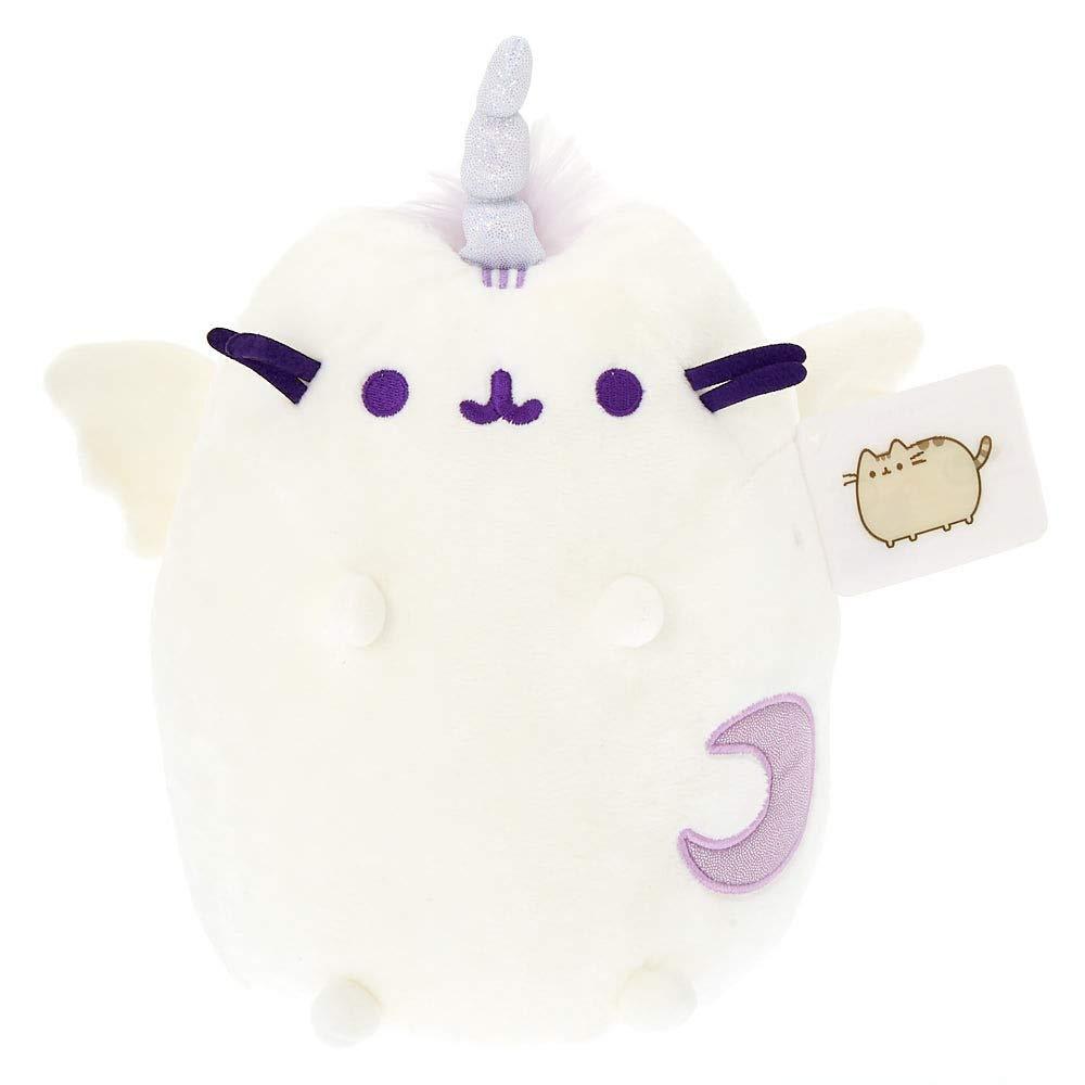 Girl's Pusheen Super Pusheenicorn Medium Plush Toy - White by Claire's