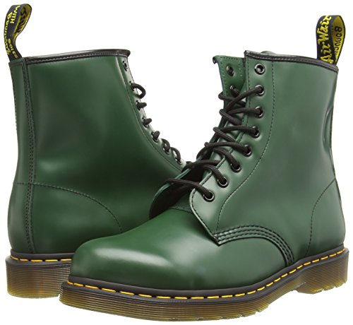 Pour 59 Last Adultes Chaussures Dr Martens Smooth Unis 1460 Vert Aw0pOq