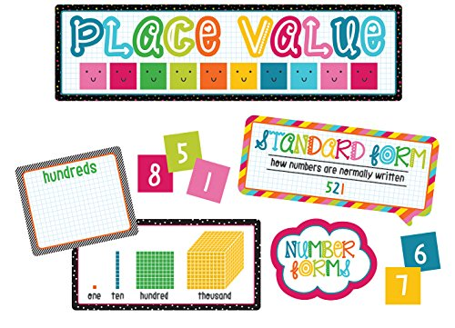 Carson Dellosa School Pop Place Value Mini Bulletin Board Set ()